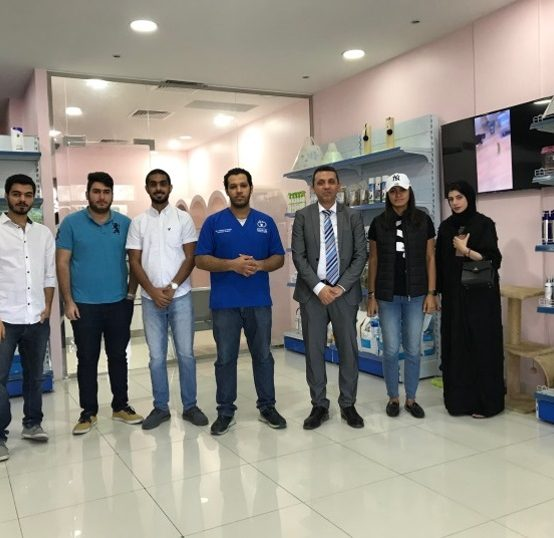 Visit to Bahrain Veterinary Center