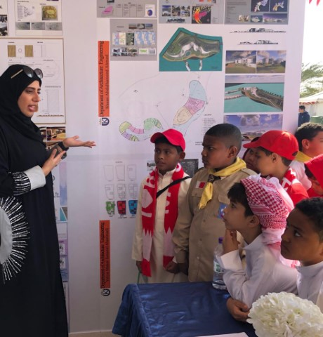 Kingdom University participates in the commemoration of the Bahrain National Charter