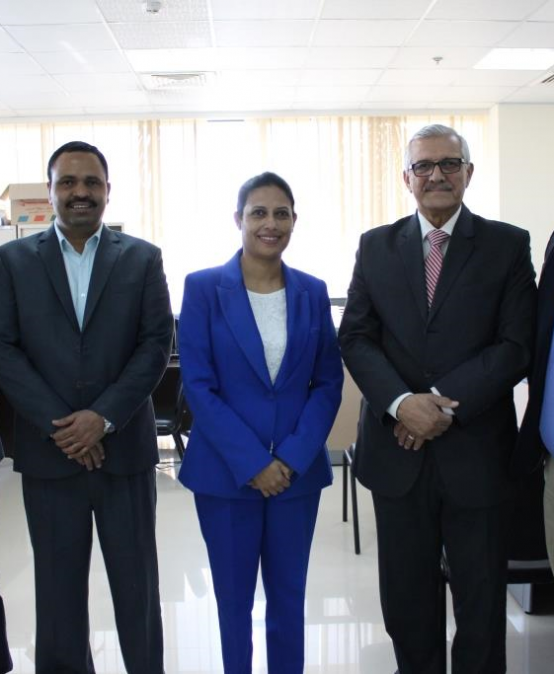 Meeting with Manipal Executive Education – College of Business Administration